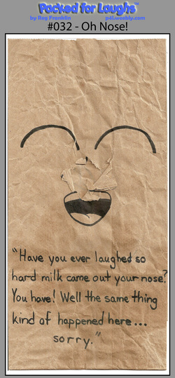 Was it one of my comics that made you laugh? :D